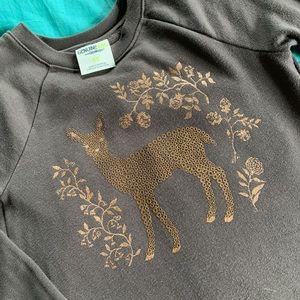 Oshkosh bronze deer top